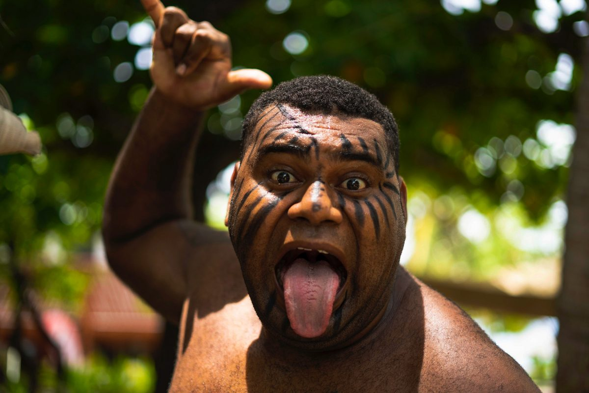 Courage pays dividends when facing the haka in New Zealand