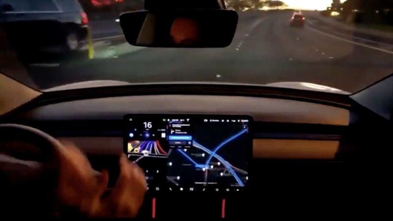 Tesla Autopilot safety shows improvement as Full Self Driving fail videos rise