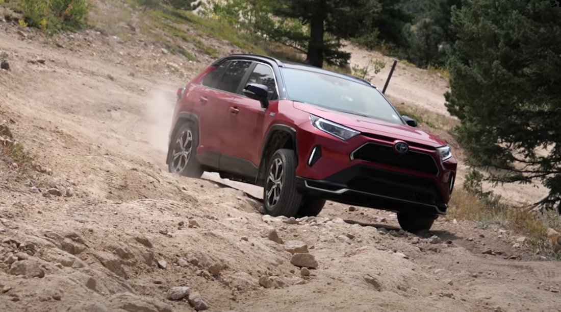 Eco-Conscious Off-Roaders, the New Toyota RAV4 Prime Is for You