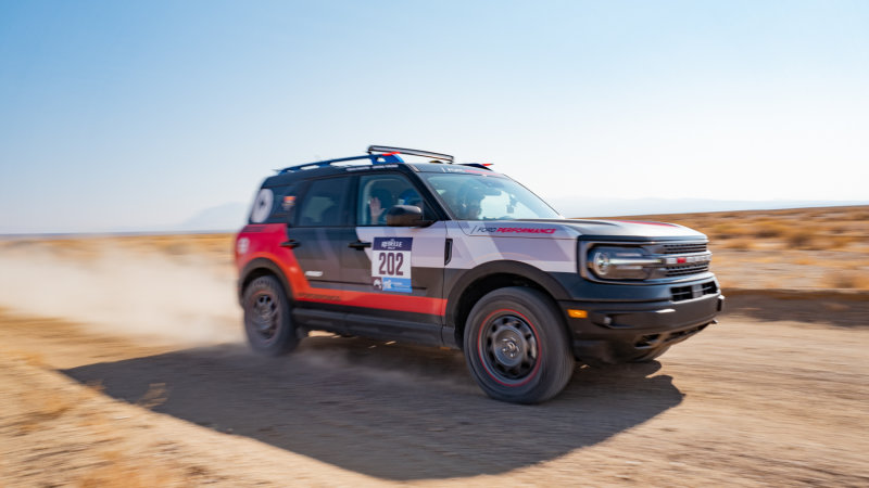 2021 Ford Bronco Sport at the 2020 Rebelle Rally results