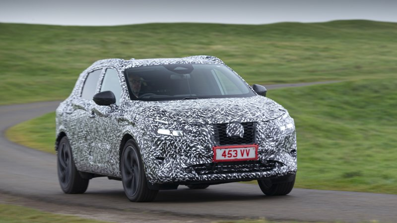 2022 Nissan Rogue Sport previews with new design and more tech