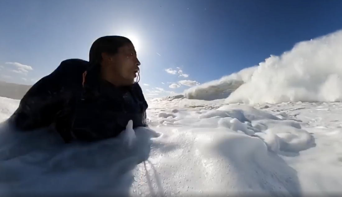 This Is What a Beat-Down in 40-Foot Waves Feels Like