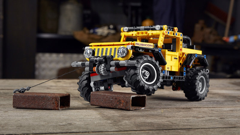 Jeep Wrangler the latest car to get the Lego Technic treatment