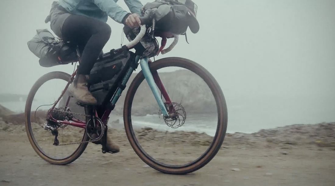 Packin' and Ridin' the NorCal Coast Means Lots of Fog and Climbing and Fun