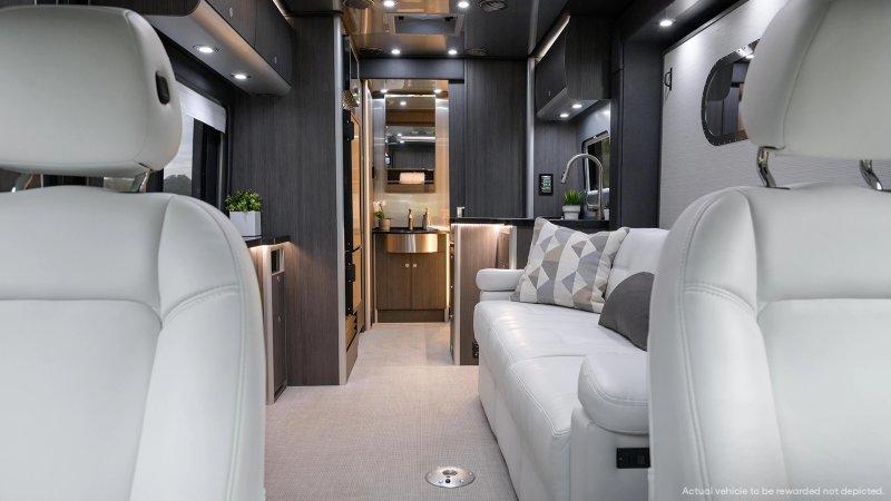 Omaze is raffling off a Mercedes Airstream Atlas camper, worth $270k
