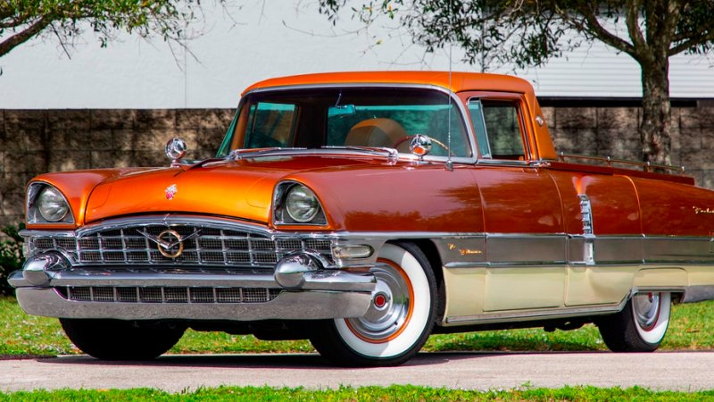 1956 Packard Patrician pickup conversion heads to auction