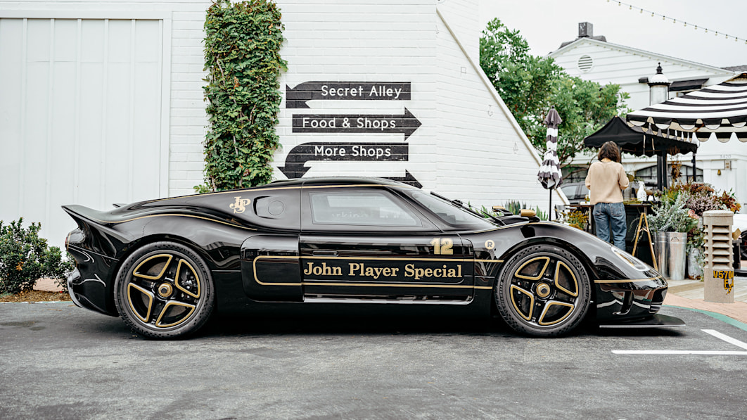 Radford Type 62-2 John Player Special takes the coach-built sports car even higher